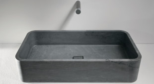 Rounded Edge Rectangular Basin